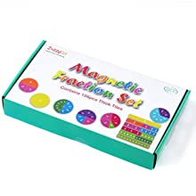 Magnetic fraction strips for counting