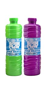 2 pack bubble wands refill bubble solution