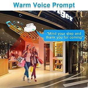 warm voice prompt