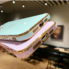 iPhone 12 Pro Max Case Plating Gold