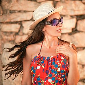Montana West Western Sunglasses UV 400 with Rhinestones Sunglasses for Women