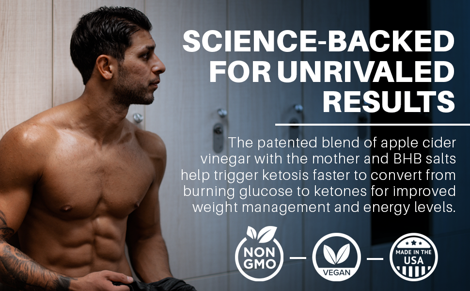 Science-backed for unrivaled results.