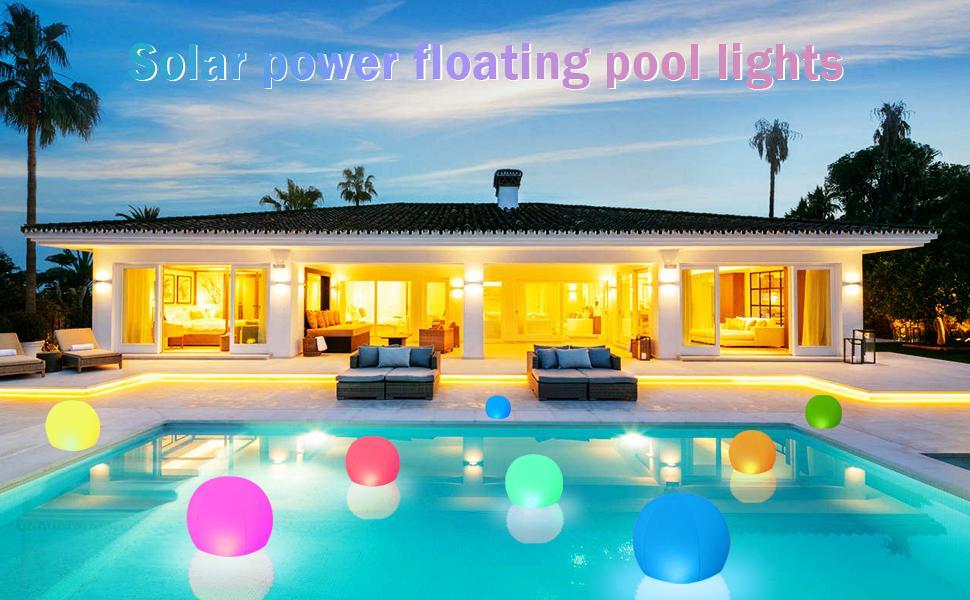 floating lanterns for pool