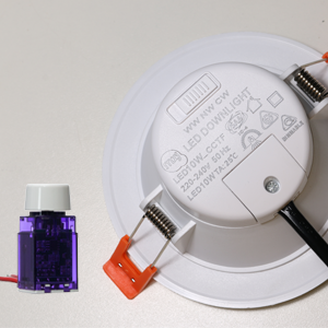 Downlight slide switch and stepless dimming have different light effect combinations