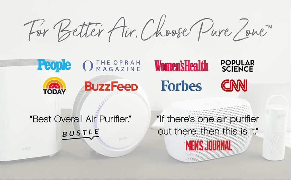 Pure Enrichment Air Purifier Press Banner