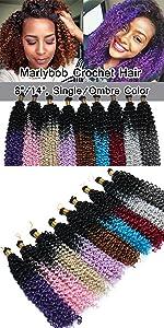 Marlybob Crochet Hair