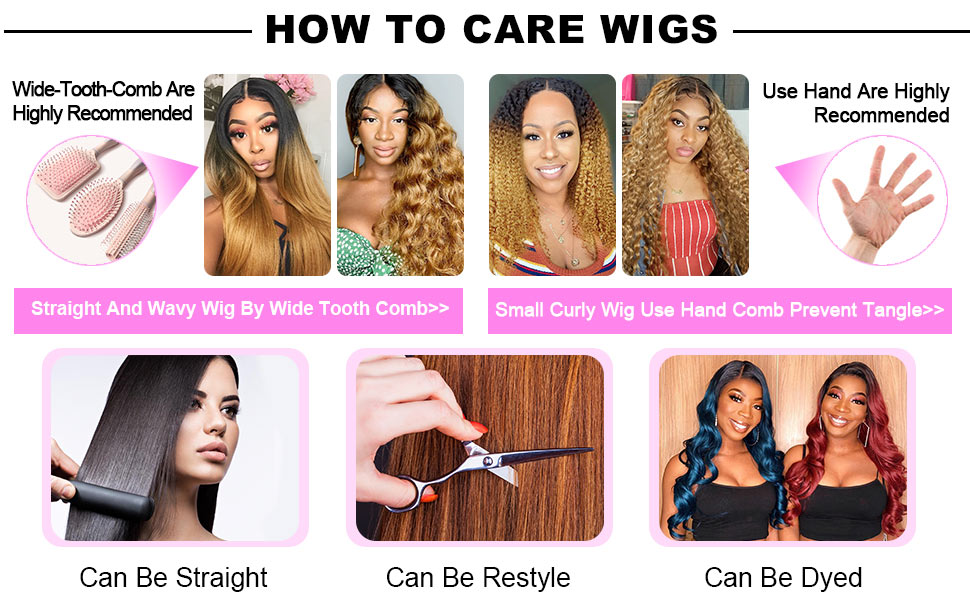 HOW TO CARE WIGS