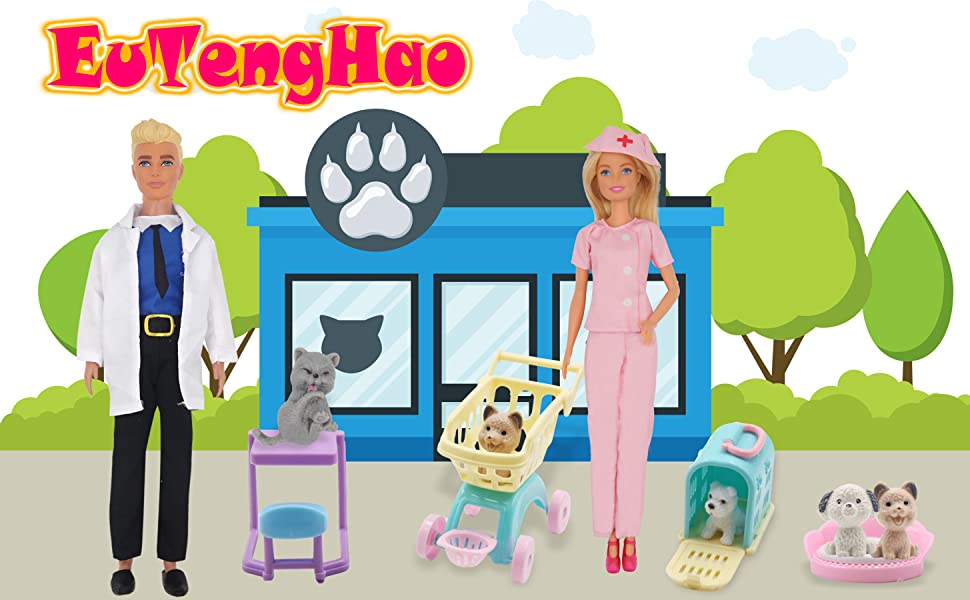 12 inch boy doll clothes doll accessories 11.5 inch girl doll clothes pet care doll playset
