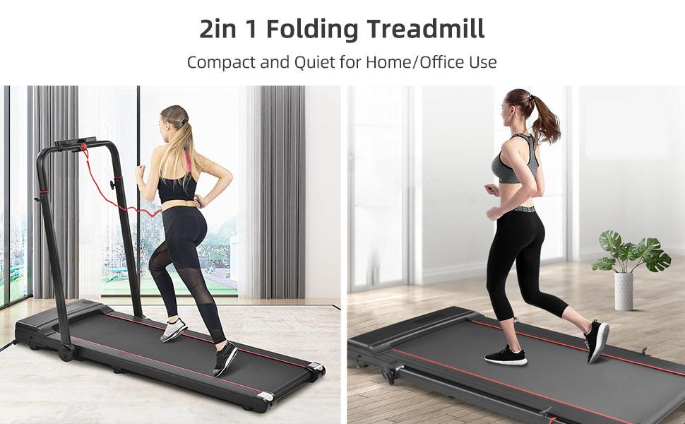 2 in 1 Home Treadmill
