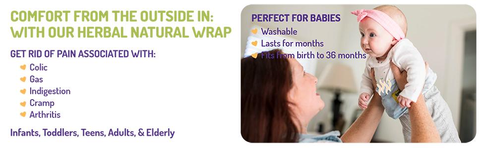 herbal natural wrap