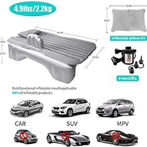 Car travel inflatable mattress easy to fill air air sofa sedan mnp car all suitable for blue