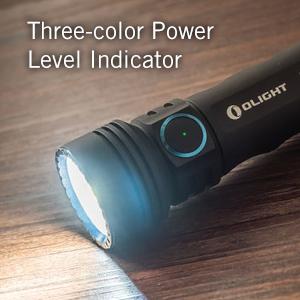 Three-color Power Level Indicator