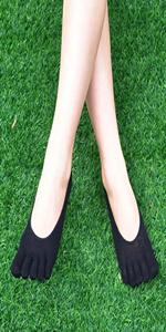 Women low cut toe socks five finger socks