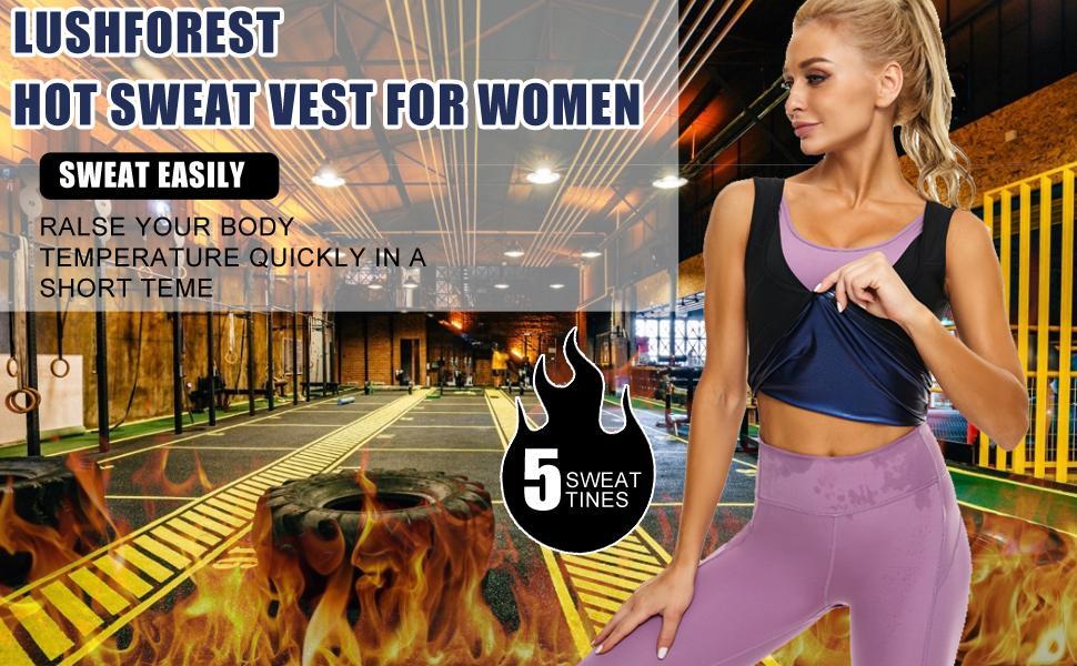 Sauna Vest for Women