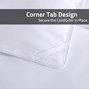 Corner Tabs for a secure fit