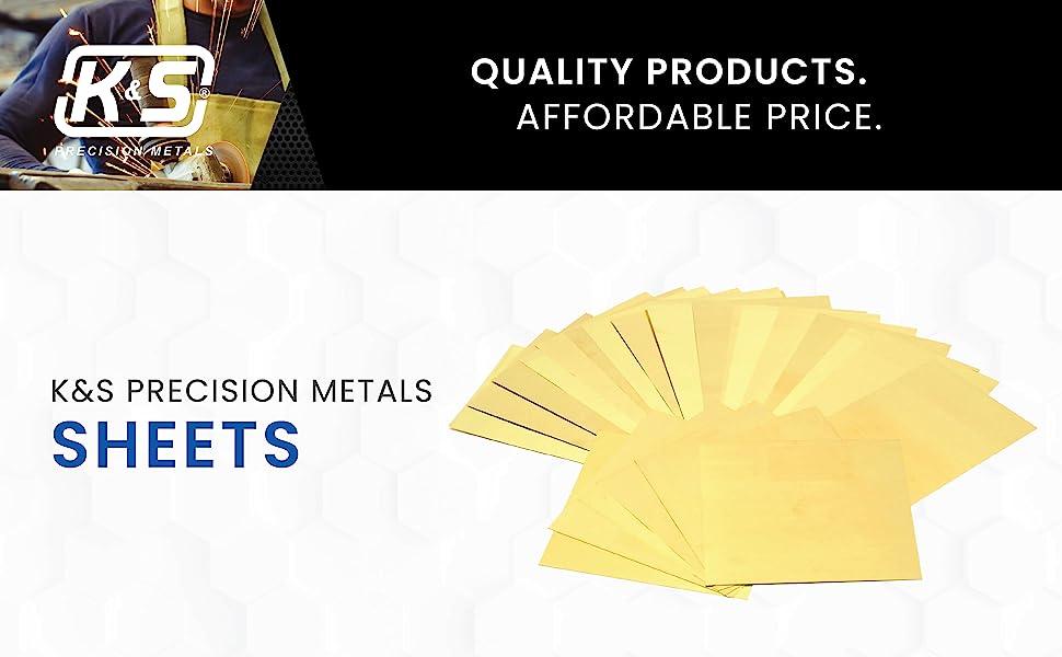 Kamp;S Precision Metals Sheets