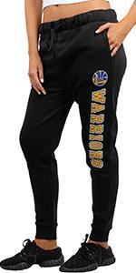 Ultra Game NBA Women's Jogger Pants Active Fleece Sweatpants