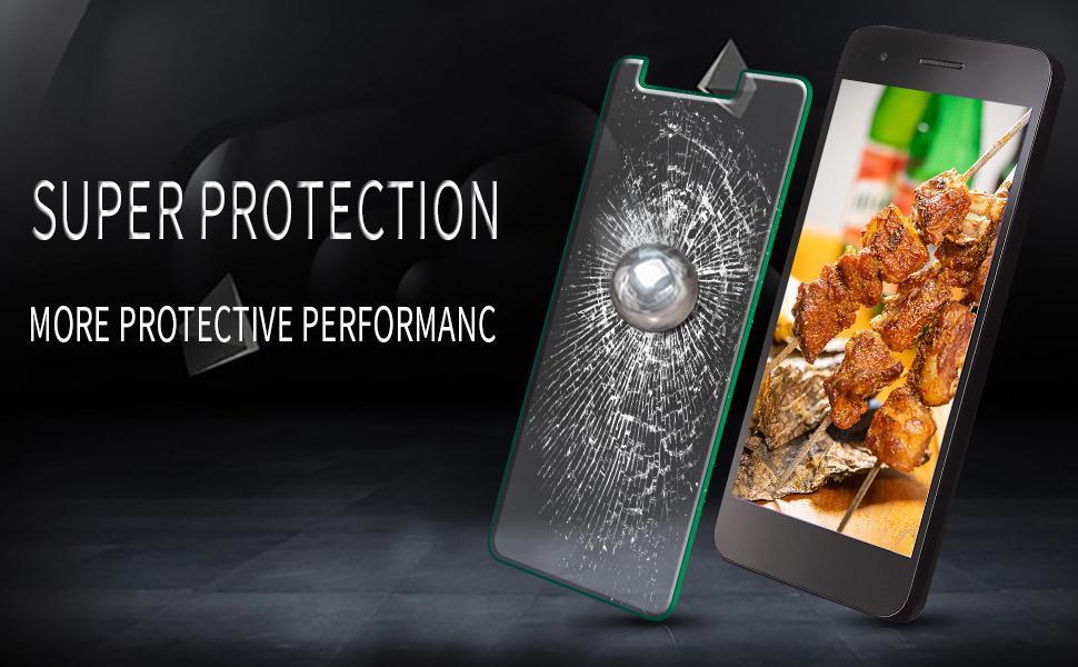 LG Rebel 4 LTE, Lml212vl Tempered Glass Screen Protector