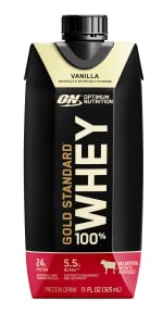 protein rtd gold standard shake post workout high protein whey vanilla optimum nutrition