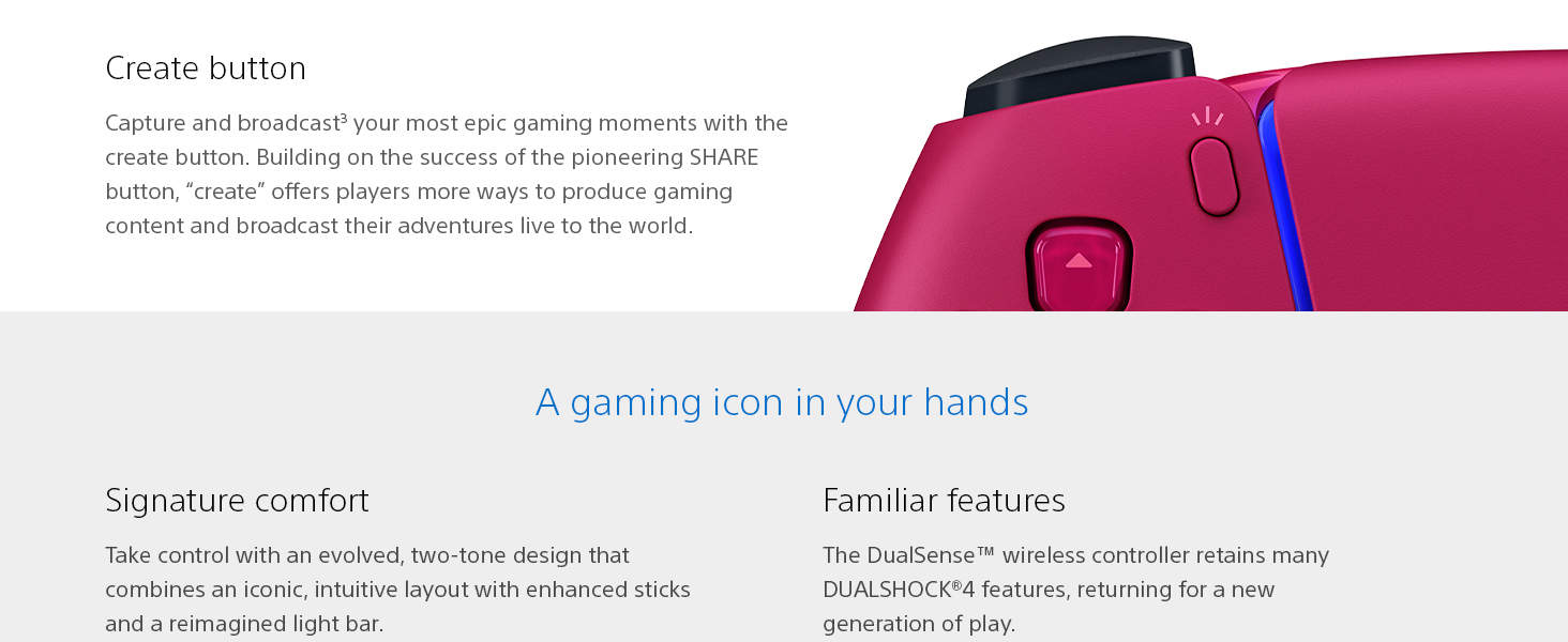 A gaming icon in your hands