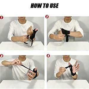 hand wrist support brace carpal tunnel thumb stabilizer immobilizer spica splint left right hand