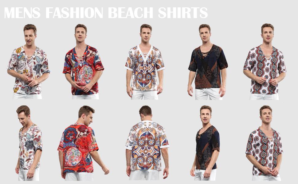 mens fashion yoga shirts
