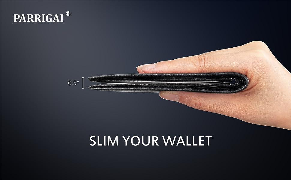 parrigai slim wallet