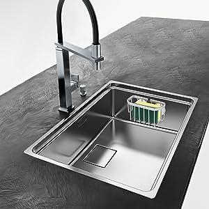 sponge holder for kitchen sink suction