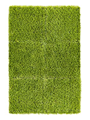 fake grass tiles