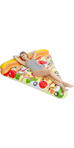 Giant Inflatable Pizza Slice Pool Float