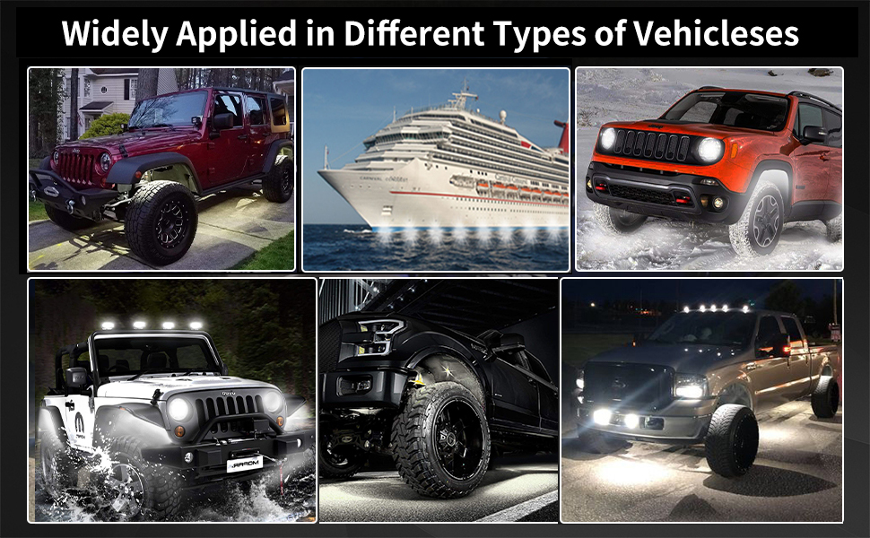 Widely Applied in Different Types of Vehicles