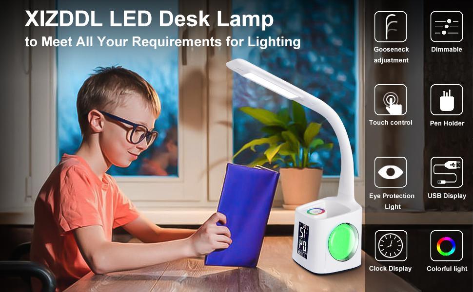 College student dormitory desk lamp