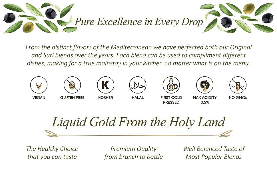 LIVS Extra Virgin Olive Oil Body