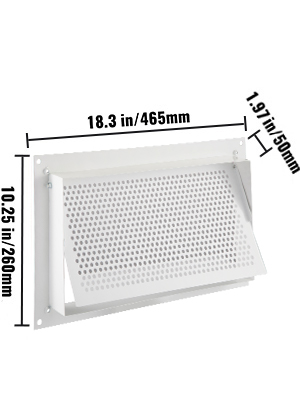 crawl space vent well cover