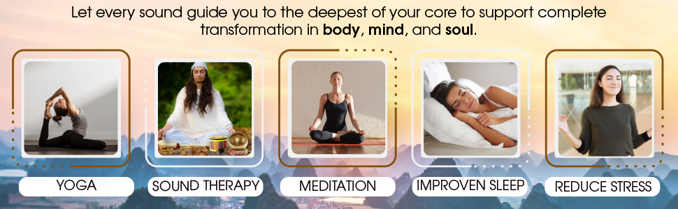 Yoga Sound Therapy Meditation Stress Relief