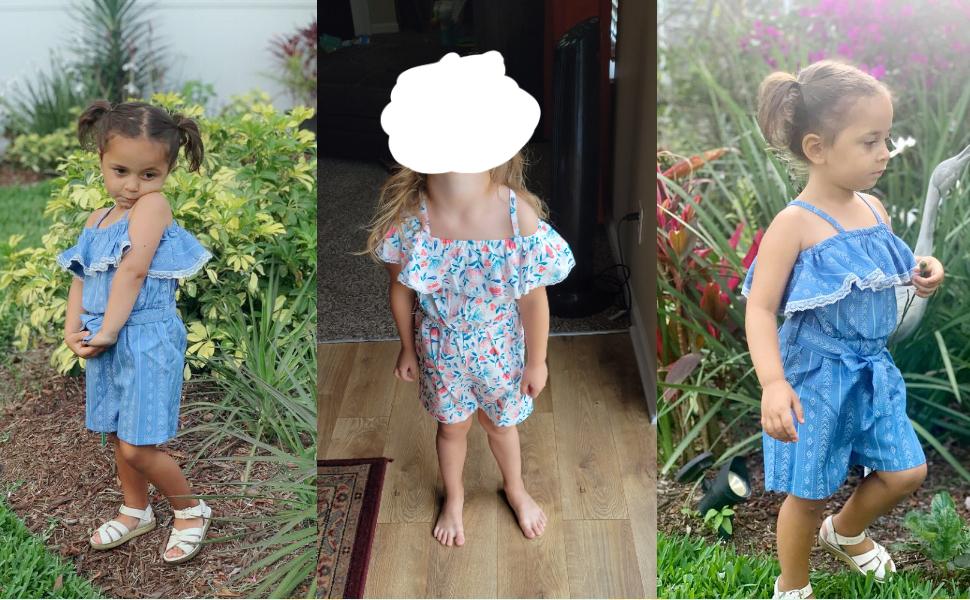 Toddler girls jumpsuit