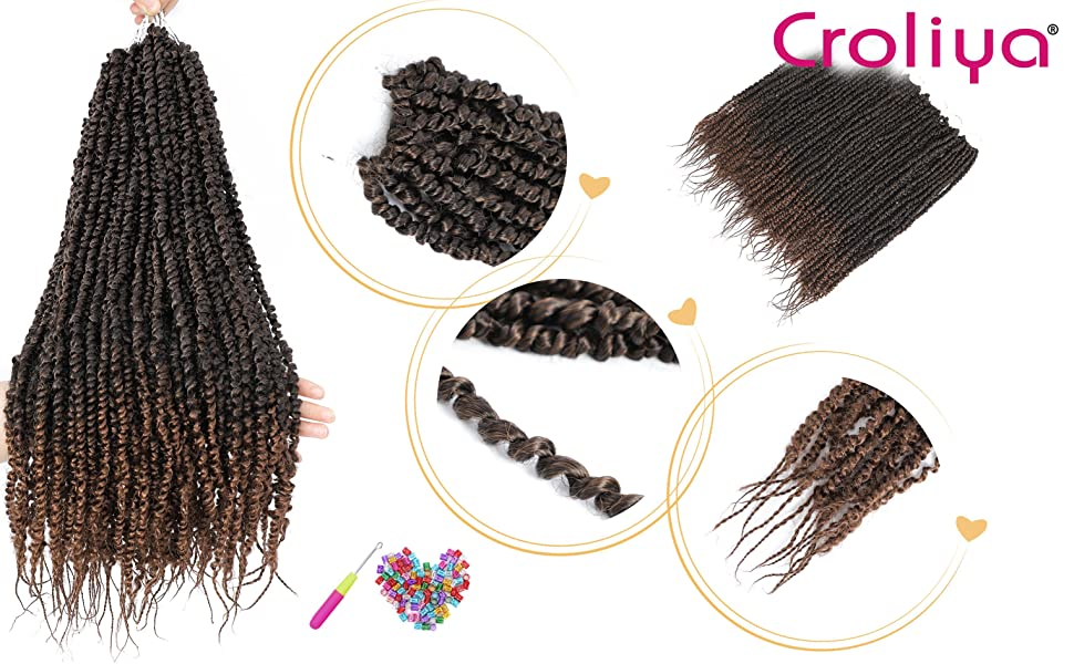 Croliya passion twist pretwisted passion twist hair details