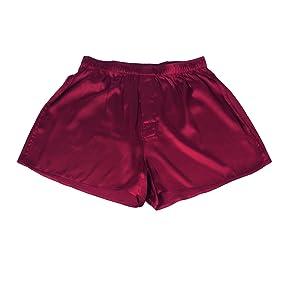burgundy boxer