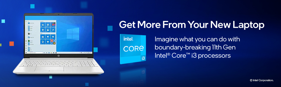 HP 15 -i3 Processor Get more from your new laptop