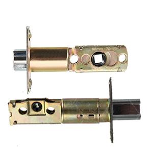 entry door knob and deadbolt