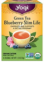 yogi tea green blueberry