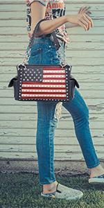 patriotic handbag