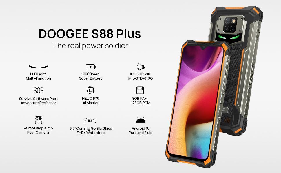 DOOGEE S88 PLUS