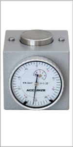 Accusize Dial Z Axis Zero Setter 2 inch Height Magnetic, 2124-2001