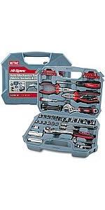 67 Piece Auto Mechanics Tool Kit Set