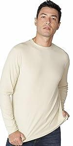 INGEAR Mens Loose Fit Shirt UPF Sun Shirts Everyday Long Sleeve Shirt Sun Protective Shirts for Mens
