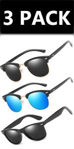 Sunglasses Polarised /3PACK