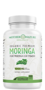 moringa leaves leaf seeds powder seed extract 2000mg 2000 1000mg 1000 120ct 100ct 100 count value mg