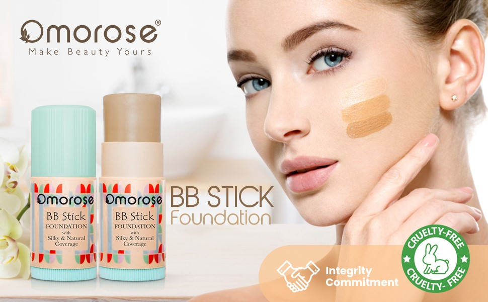 Omorose BB Stick Foundation with Silky & Natural Coverage