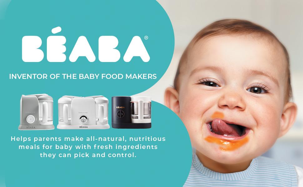 beaba babycook duo baby food maker baby food processor steamer and blender steam cooker baeba